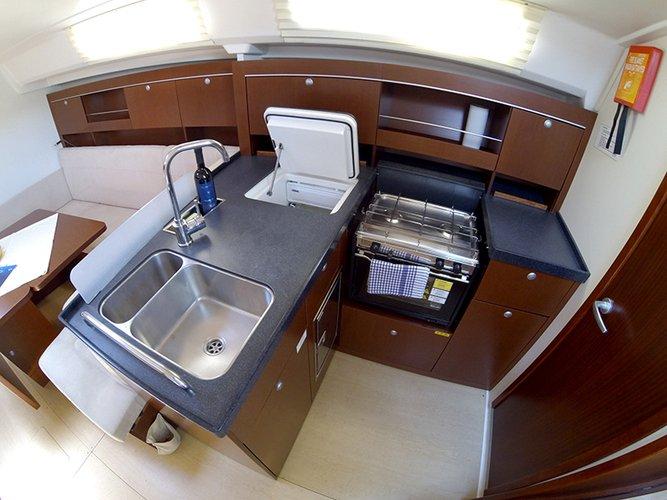 Discover Šibenik region surroundings on this Hanse 385 Hanse Yachts boat
