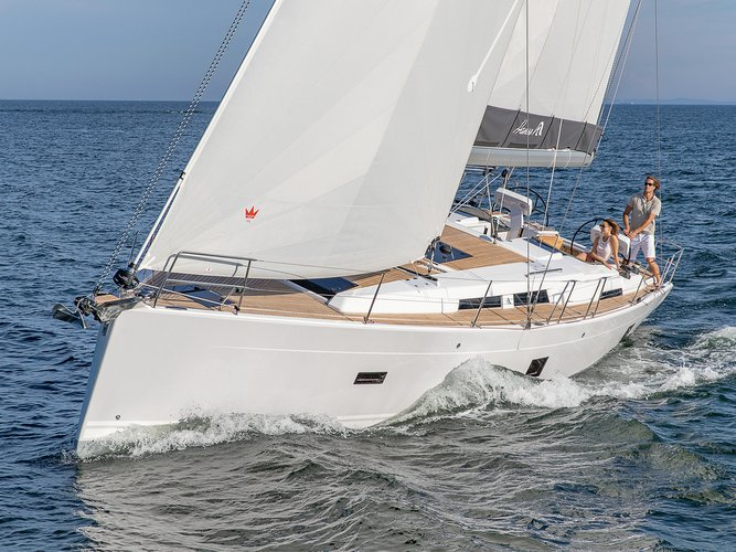 Rent this Hanse Yachts Hanse 458 for a true nautical adventure