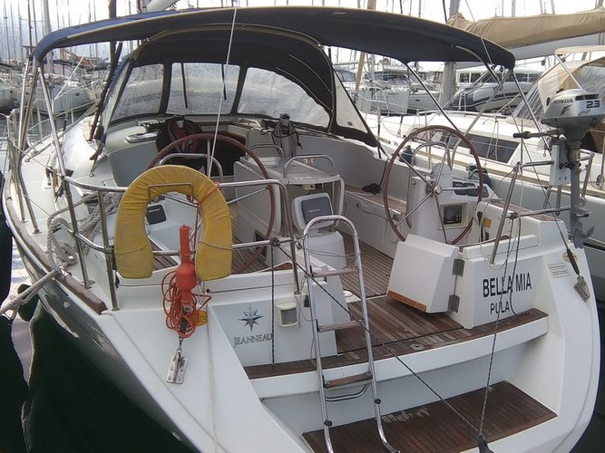 Get on the water and enjoy Sao Vicente in style on our Jeanneau Sun Odyssey 44i
