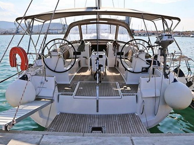 Charter this amazing sailboat in