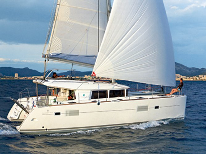 Rent this Lagoon Lagoon 400 for a true nautical adventure