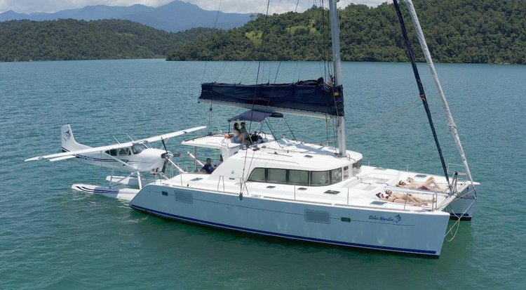 Make your upcoming vacation in Brazil memorable aboard this Catamaran
