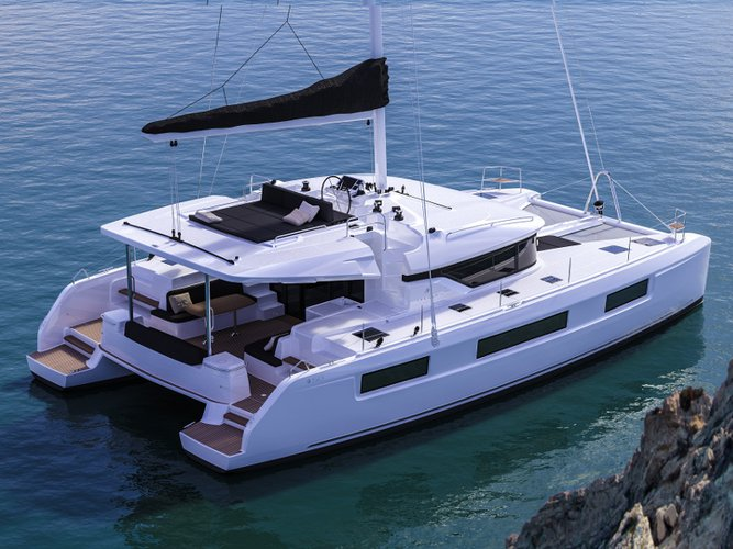 All you need to do is relax and have fun aboard the Lagoon Lagoon 50