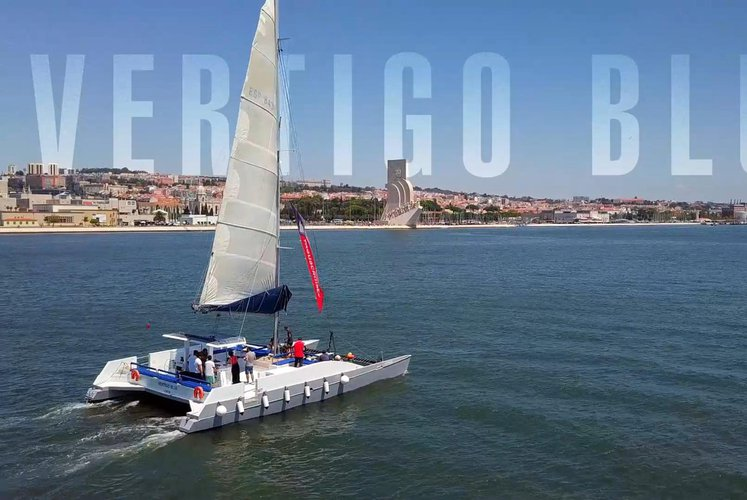 Discover Belem surroundings on this 50 Nigel Irens boat
