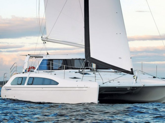 Explore St Vincent on this beautiful sailboat for rent