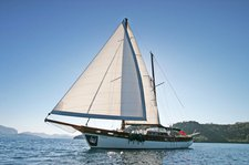 Relax on board this amazing sail boat charter in Bodrum