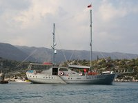 Experience Bodrum by sailing on this elegant sail boat