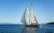 Charter this astonishing sail boat in Turkey