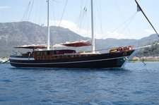 Charter this wonderful sail boat  and experience the beauty of Bodrum