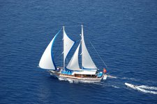This sail boat rental is perfect to enjoy Bodrum