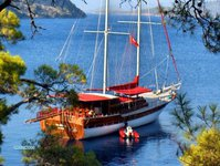 Experience sailing at its best on this sail boat charter in Turkey
