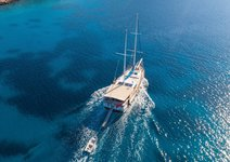 Charter this 89 ft Gulet for an awesome sailing adventure