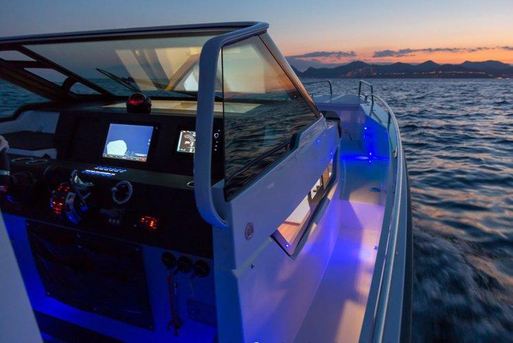 Boat for rent Axopar 37.0 feet in Chania, Greece
