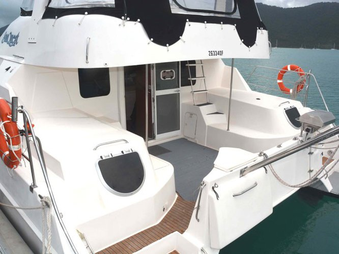 Conquest's 44.0 feet in Whitsundays