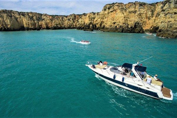 Motor yacht boat rental in Lagos - Marina de Lagos, Portugal