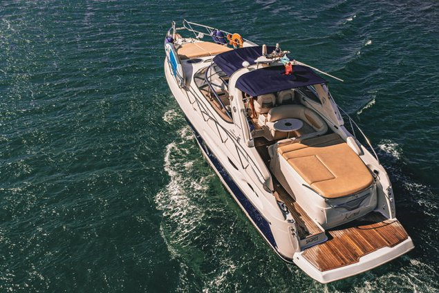Enjoy luxury and comfort on this Portugal motor boat rental