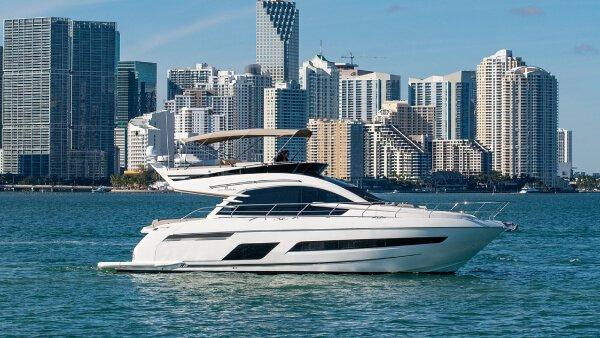Boat for rent Fairline 55.0 feet in Miami Beach Marina, FL