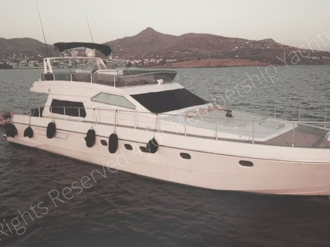 Take this Ferreti Yachts Ferretti 58/64ft for a spin!
