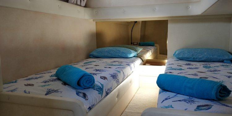 Motor yacht boat rental in Mellieha, Malta