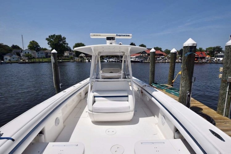 Boat for rent Intrepid 37.0 feet in Compass Point marina, VI