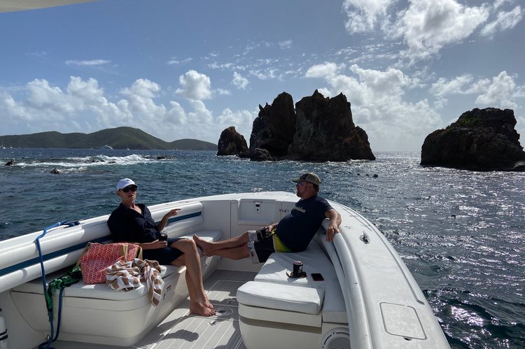 Boating is fun with a Center console in Charlotte Amalie