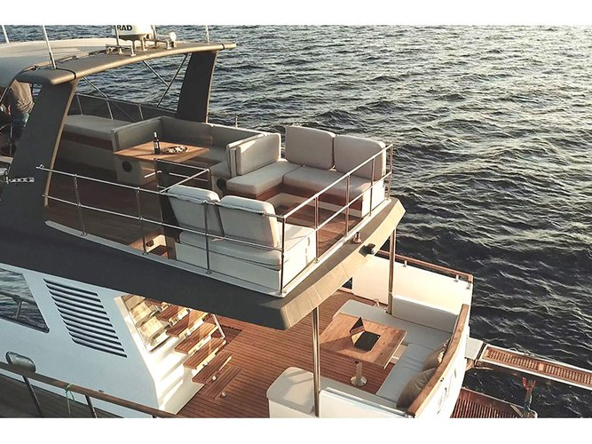 All you need to do is relax and have fun aboard the Maiora Yachts Maiora Renaissance 66/70ft