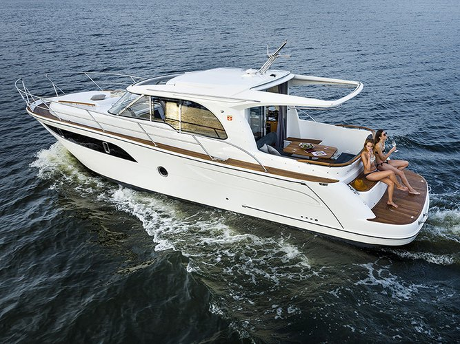 All you need to do is relax and have fun aboard the Marex Marex 375