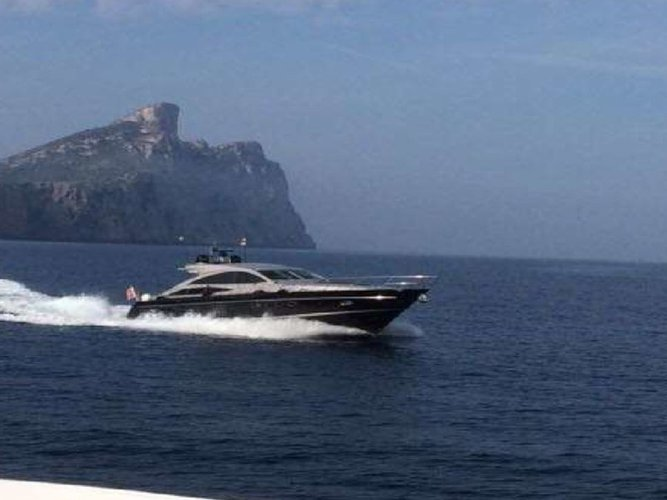 Enjoy luxury and comfort on this Princess Yachts Princess V70 in Palma de Mallorca
