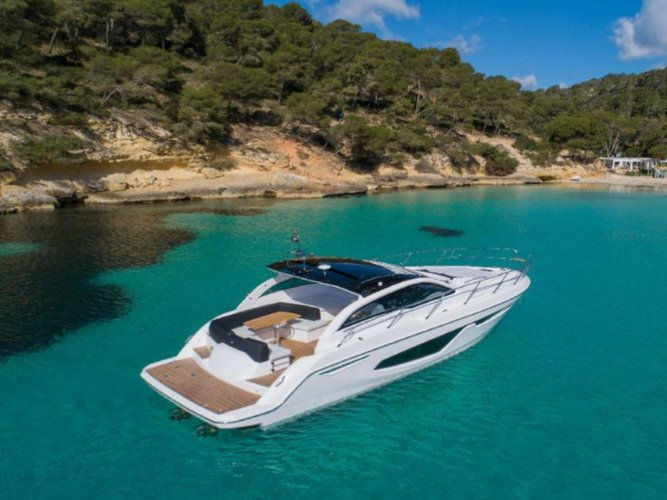 Jump aboard this beautiful Sessa Marine Sessa C38