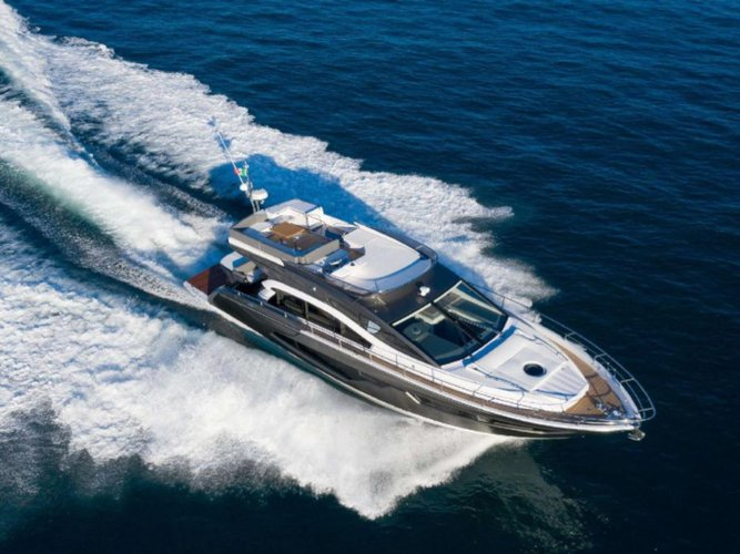 Climb aboard this Sessa Marine Sessa Fly 54 for an unforgettable experience