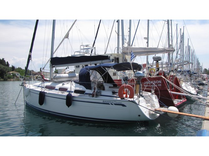 Charter this amazing Bavaria Yachtbau Bavaria 31 Cruiser in Corfu, GR
