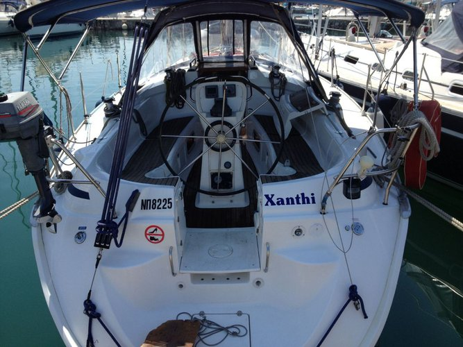 Discover Saronic Gulf in style boating on this sailboat rental