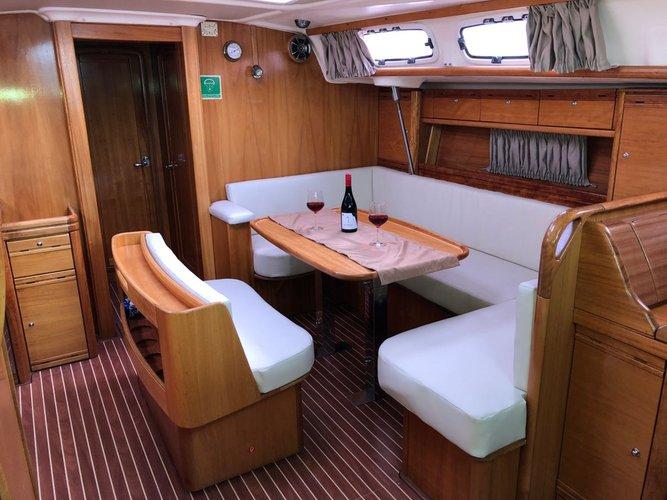 Discover Lefkada surroundings on this 46.6 Bavaria Yachtbau boat
