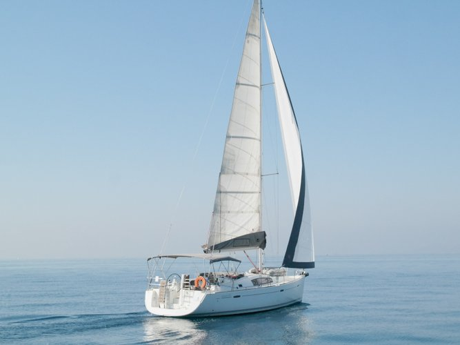 Climb aboard this Beneteau Oceanis 43 for an unforgettable experience