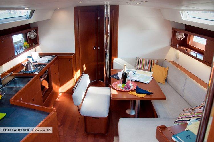 Charter this amazing Beneteau Oceanis 45 in Porto Vecchio, FR