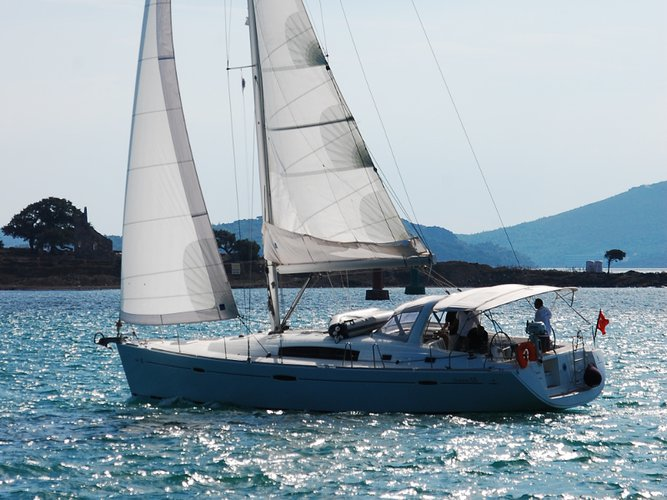 Sail Marmaris, TR waters on a beautiful Beneteau Beneteau Oceanis 50