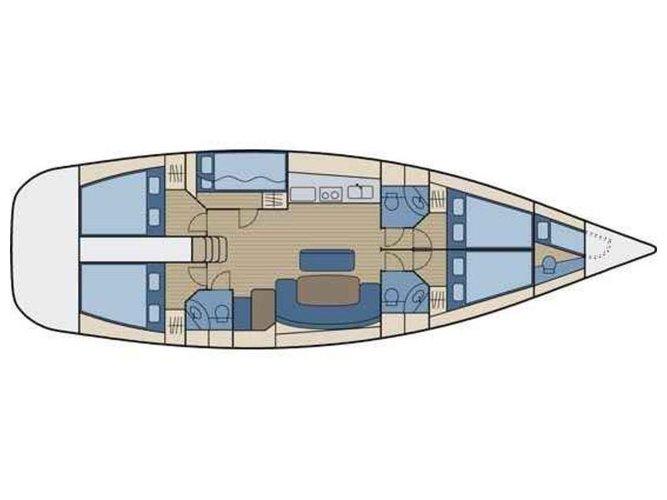 Monohull boat rental in Alimos, Athens, Greece, Greece