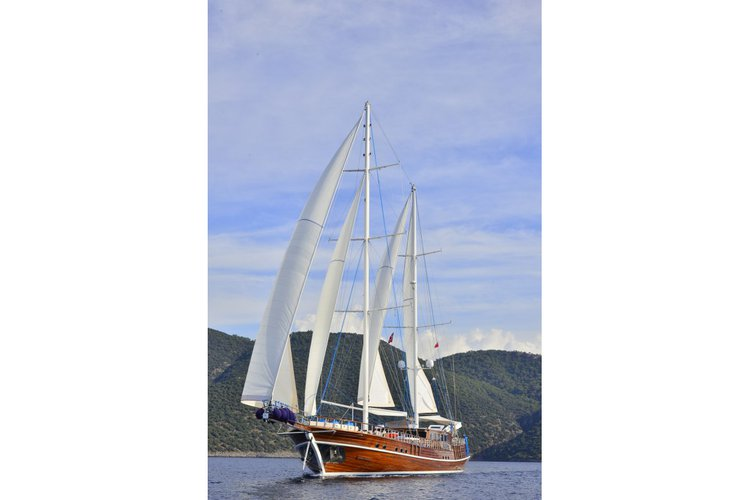 Experience sailing at its best on a this sail boat charter in Bodrum