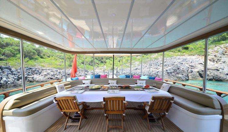 Boat for rent Custom 121.0 feet in Bodrum Marina, Turkey