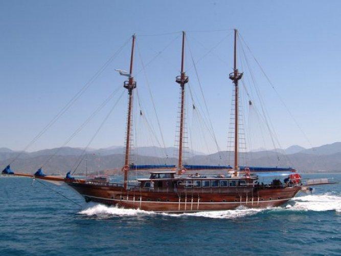 Boat for rent Custom 131.0 feet in Bodrum Marina, Turkey