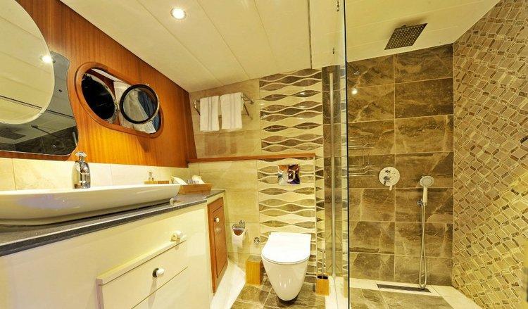 Gulet boat rental in Bodrum Marina, Turkey