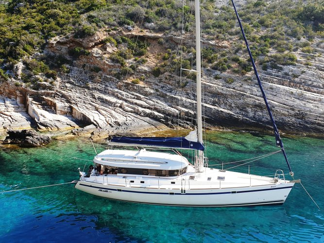 Rent this Dufour Yachts Dufour Atoll 6 for a true nautical adventure