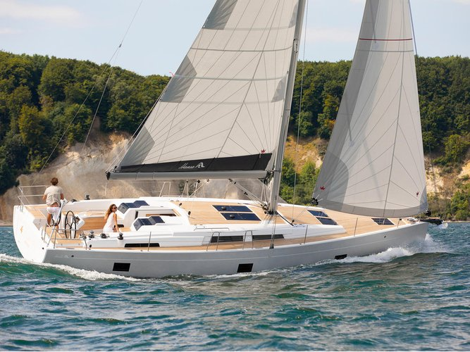Get on the water and enjoy Athens in style on our Hanse Yachts Hanse 458