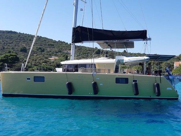 Experience Pirovac, HR on board this amazing Lagoon Lagoon 450