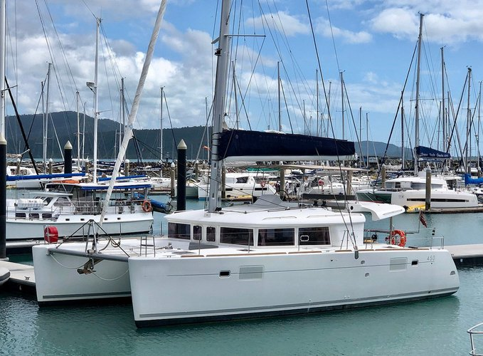 Charter Lagoon 450 and Relish the Whitsundays weather
