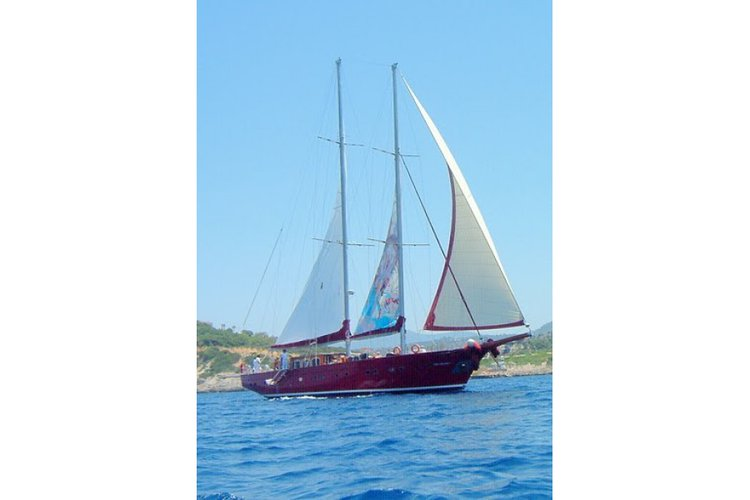 Experience Bodrum on board this elegant sail boat