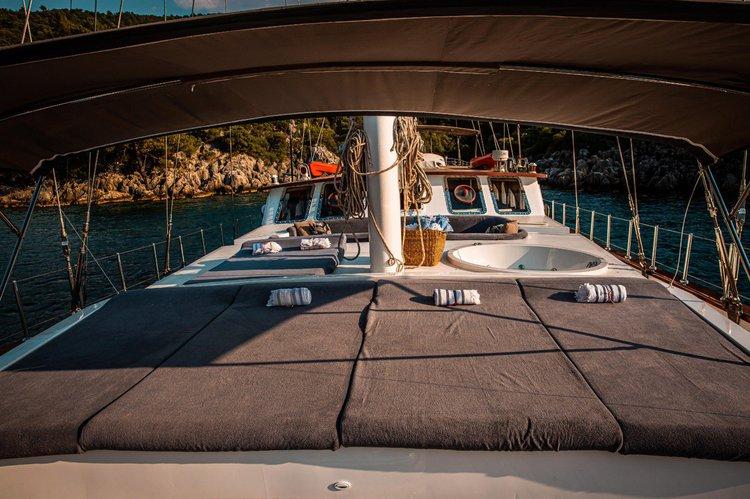 Boat for rent WOODEN 124.0 feet in fethiye ece saray marine, Turkey