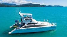 Charter this Power catamaran and Relish the Whitsundays weather
