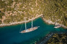 Climb aboard this sail boat for a great experience in Bodrum !
