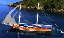 The best way to explore Turkey is to climb aboard this beautiful sail boat rental